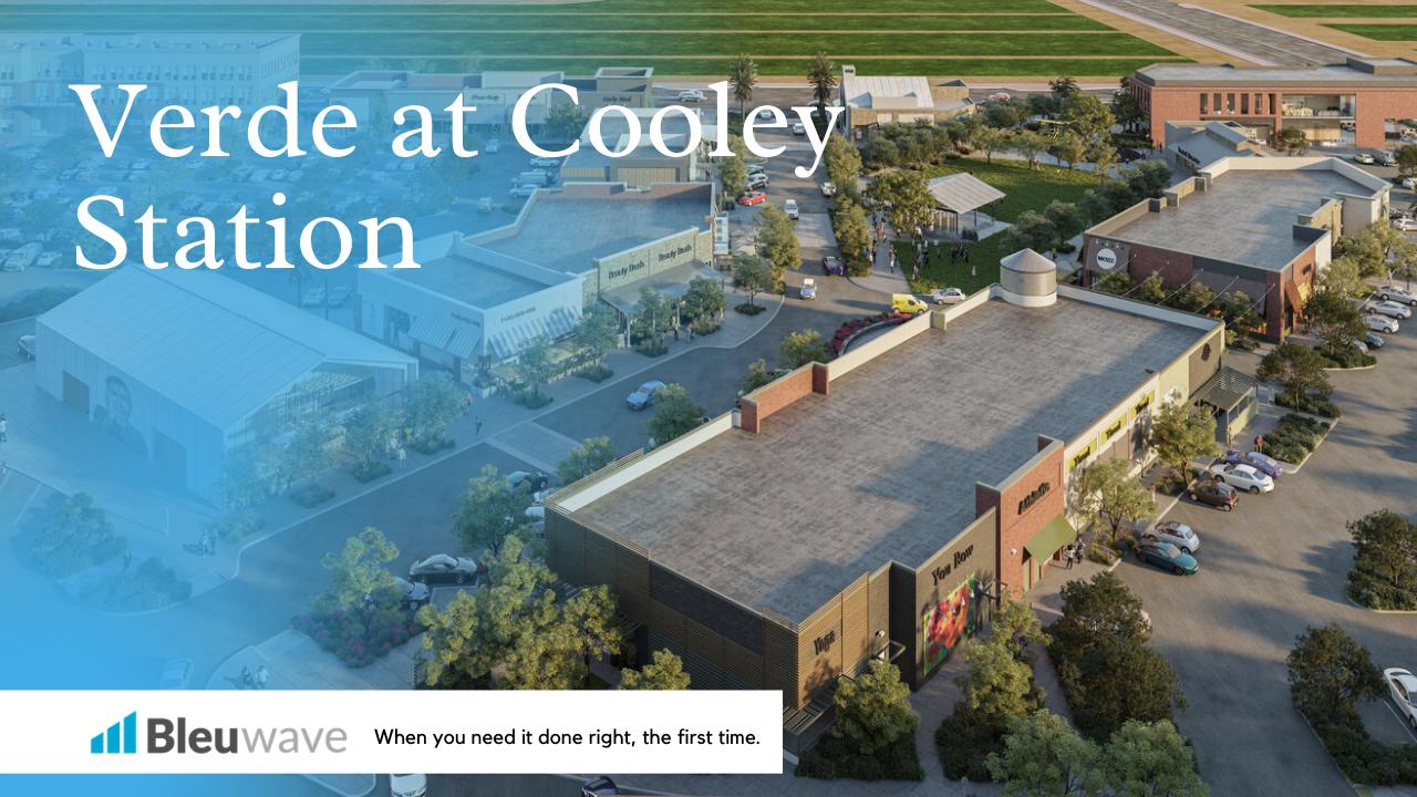 Verde at Cooley Station Commercial Development Gilbert, Arizona